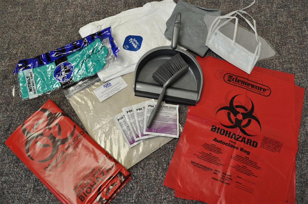 Can-Ross Bio-Hazard Kit (1/case) (Part Number-CRBIOHAZK)
