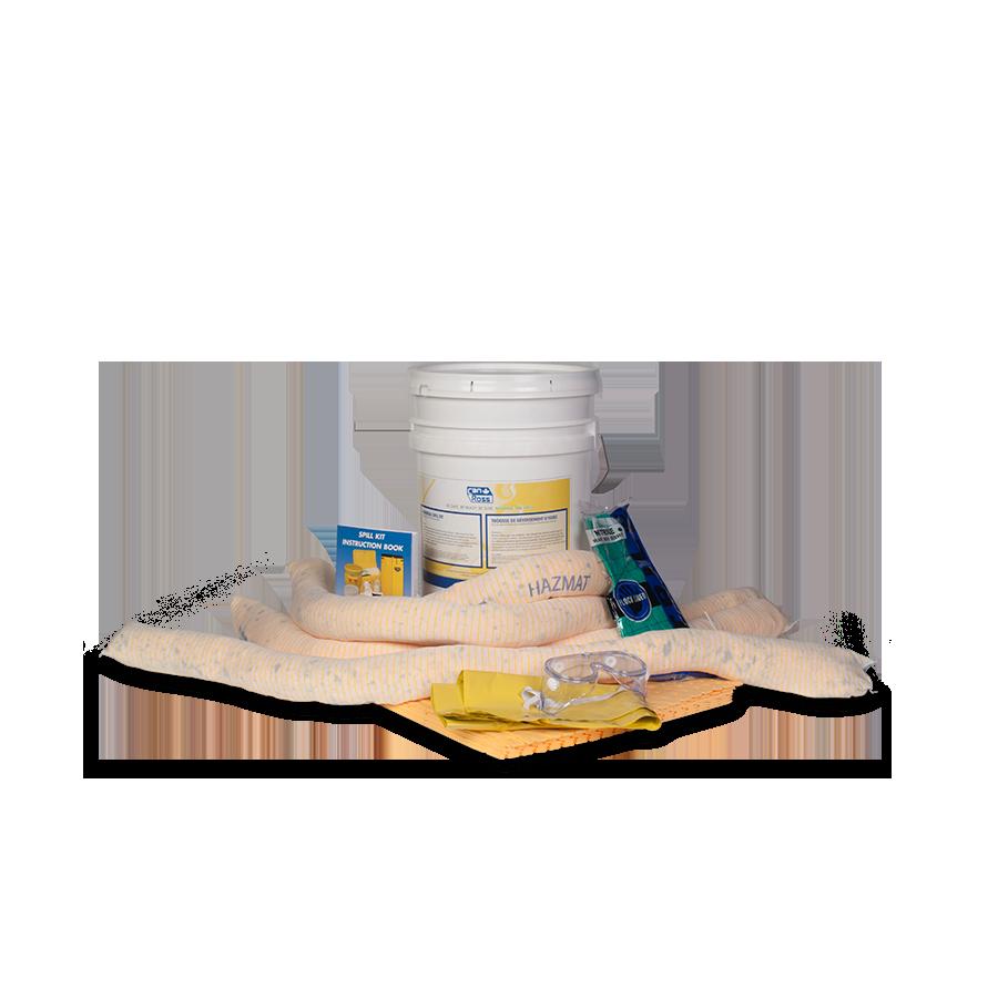 Haz-Mat Absorbent Spill Kit 20 litres / 4.4 gallons (1/case)